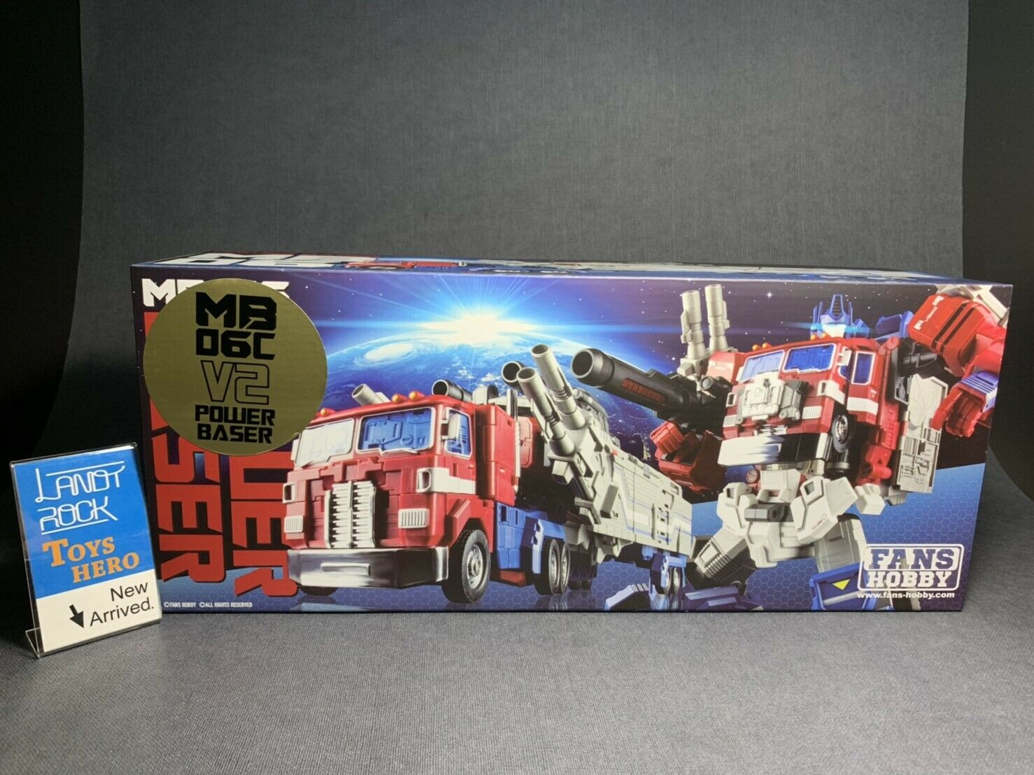 [ToysHero] In Hand Transformers FansHobby MB-06C PowerBaser PowerBaser PowerBaser Jinrai Optimus Prime f85