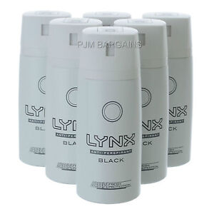 Details about LYNX Dry Black Anti-Perspirant 6 Pack 150ML
