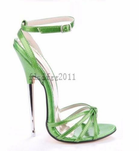 Hot Donna Open Toe Hollow Sandals High Heels Stilettos Pumps Gladiator Shoes
