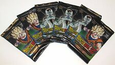 6X DRAGON BALL Z HEROES& VILLAINS BOOSTER PACKS 12 cards/pack NEW SEALED 1/4 box
