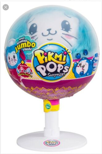 Pikmi Pops Surpirse  EASTER JUMBO BUNNY ** Plush Pop ~   HUDDY THE FLUFFY BUNNY