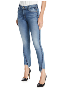 New 7 For All Mankind Skinny, Women's Mid-Rise Jeans Seam-Size 25  at NM