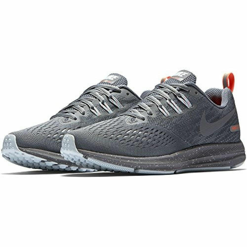 WOMENS NIKE AIR ZOOM WINFLO 4 SHIELD SILVER GREY TRAINING ATHLETIC RUNNING SHOES