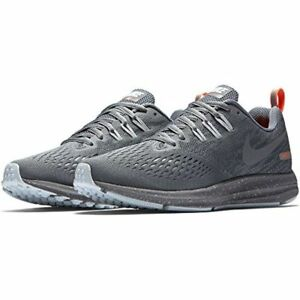 Details about WOMENS NIKE AIR ZOOM WINFLO 4 SHIELD SILVER GREY TRAINING ATHLETIC RUNNING SHOES