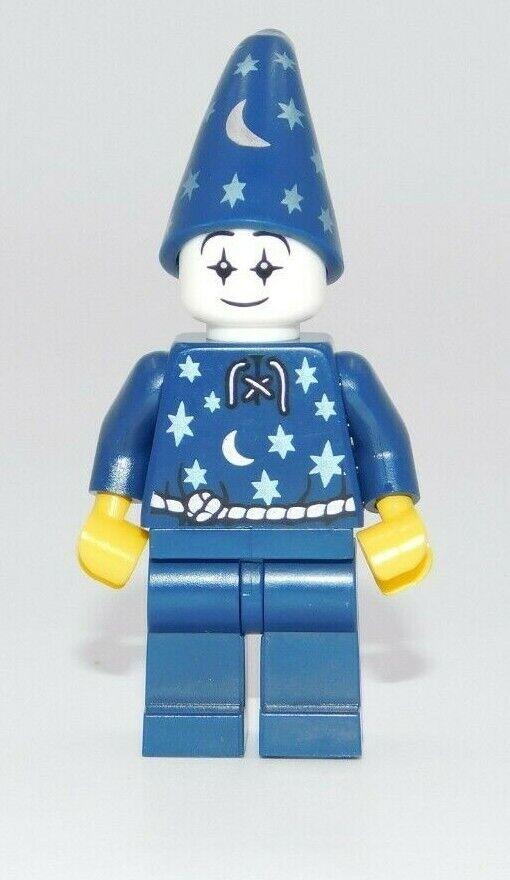 LEGO NEW BLUE MINIFIGURE TORSO CLOCK KING PATTERN GREEN BELT PIECE