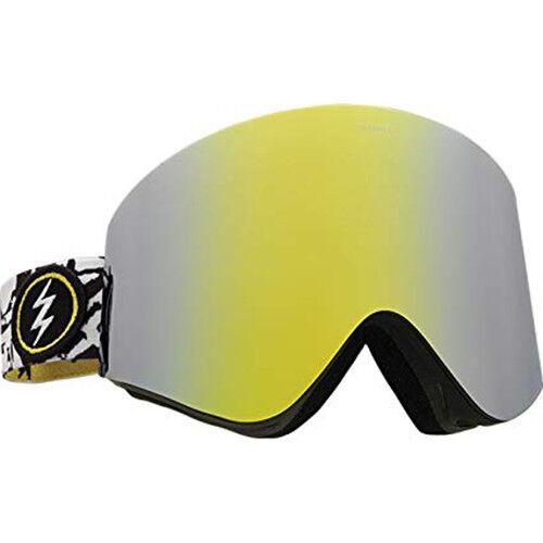Elektrisch Visuell Egx Knochen Snowboard Brille (Bpink   gold Chrom )