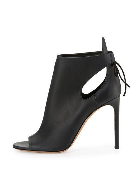 NWOB VINCE Women's Open Toe Ankle Boots SZ 9