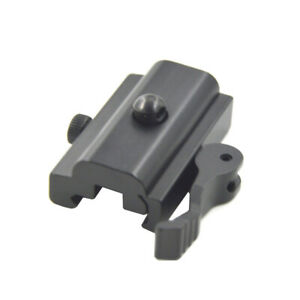 QD-Quick-Detach-Cam-Lock-Bipod-Sling-Swivel-Adapter-Mount-20mm-Picatinny-Rail