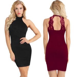 Women-Bodycon-Slim-Short-Midi-Dress-Evening-Cocktail-Party-Clubwear-Pencil-Dress