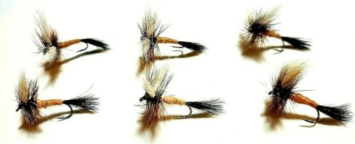 ONE Fly Ausable Wulff Dry Flies Size 8 Fly Fishing Flies