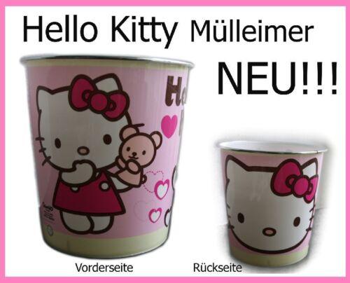 Hello Kitty Papierkorb Mülleimer Korb Abfalleimer NEU sofort lieferbar