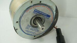 Kollmorgen-Servo-Disc-DC-Motor-Model-0000946014-Type-U9M4H-9FA4T-Untested