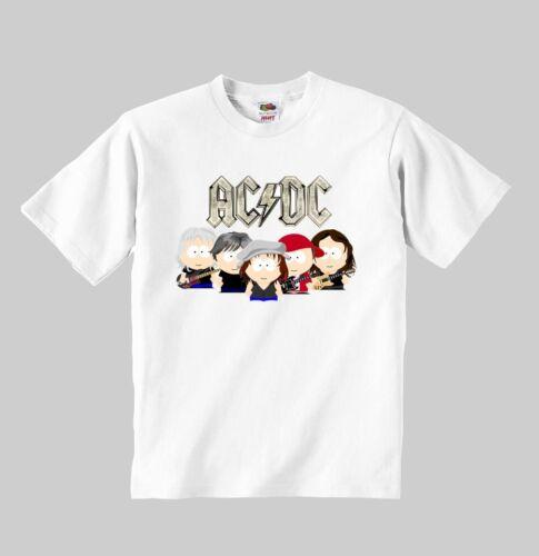 ac//dc t-shirt kid model:6 acdc shirt clothing kid Tshirt for children size:1-8 y