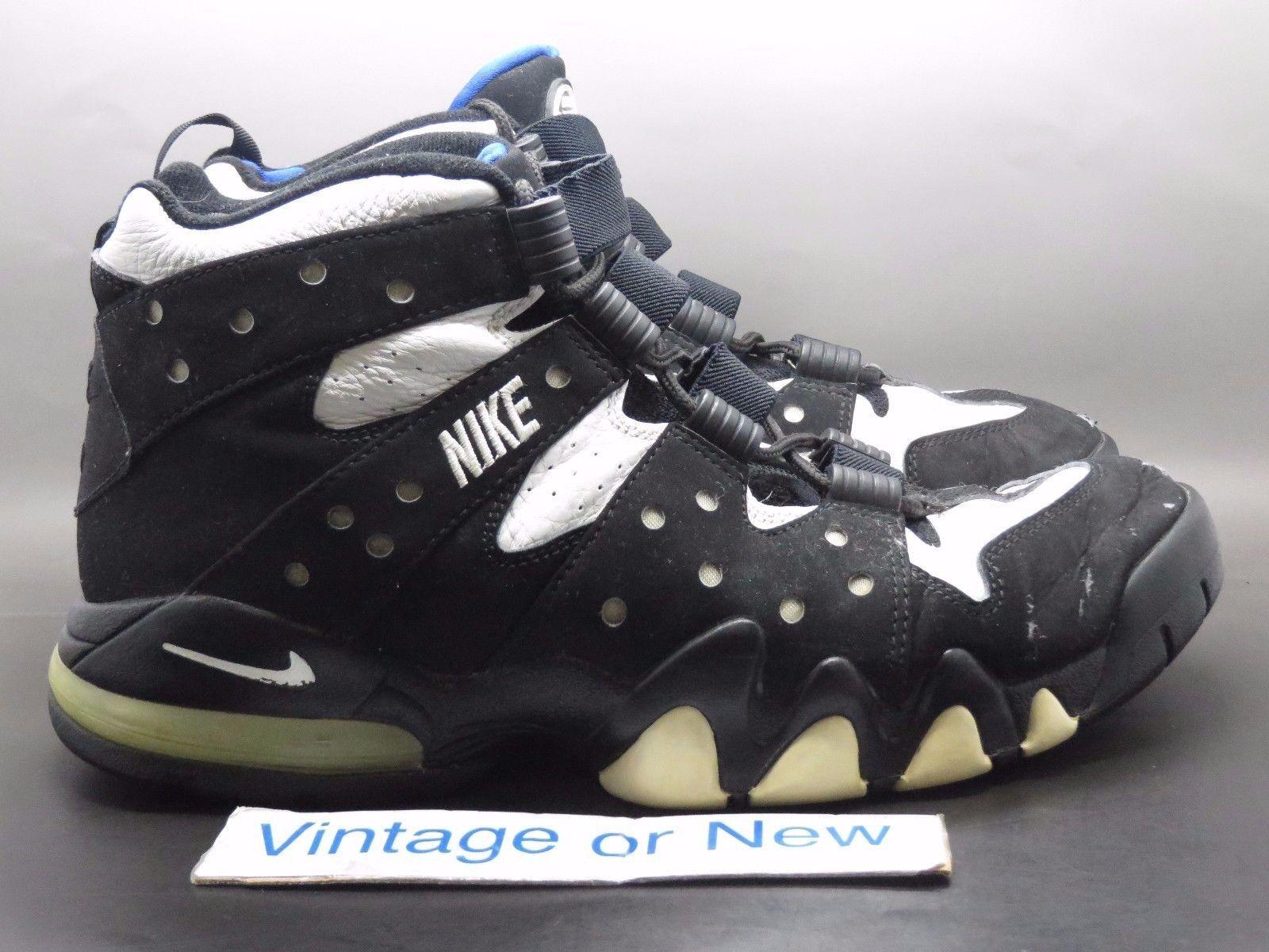 82934f7d4f1c VTG Nike Air Max 2 CB  94 Black Black Black White Varsity Royal 2003 sz  11.5 5e4776