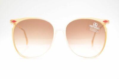 Menrad Vintage 754-485 60 [] 16 Giallo Ovale Occhiali Da Sole Sunglasses Nos-mostra Il Titolo Originale Forte Imballaggio