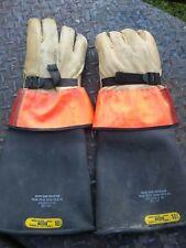 North Ansiastm D120 Lineman Gloves Type 1 Class 2 Size 105 20k Volt