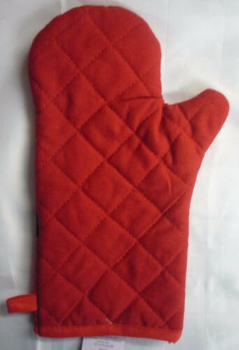 Machine Washable Santa Father Christmas Cotton Christmas Red Oven Glove