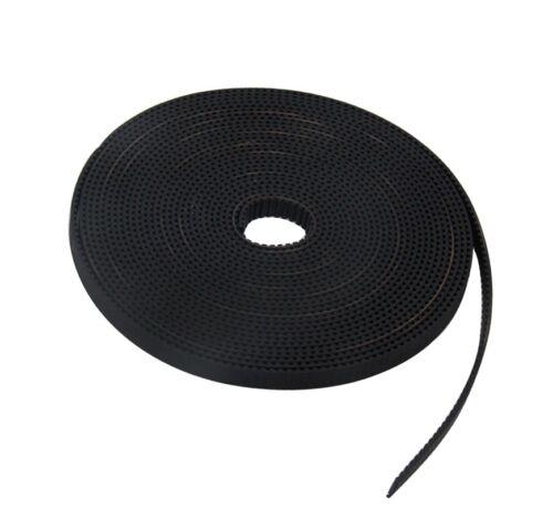 6mm GT2//MXL Timing Belt Every 1 meter 3D Printerreprap CNC PU Steel Wire 3.28ft