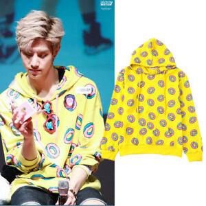KPOP GOT7 Just Right Donut Mark Cap Hoodie Sweater  EXO