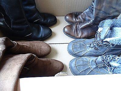 Damen Winter Schuhe-10 Paar im SET Gr.37- für Wiederverkäufer-DWS-37-001