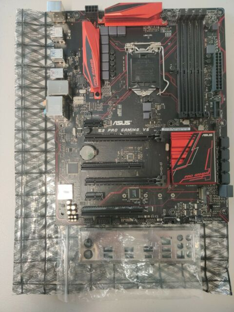 Asus E3 PRO GAMING V5 ATX Motherboard C232 LGA 1151 6&7th Gen Intel CPUs support