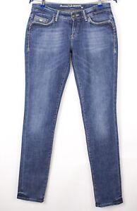 Massimo Dutti Damen Slim Fit Stretch Jeans Größe W30 L34 AVZ1395