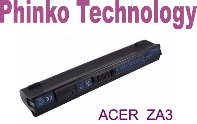NEW 6 Cell Battery for ACER Aspire One ZA3 ZG8 ZGE UM09A75 BLACK