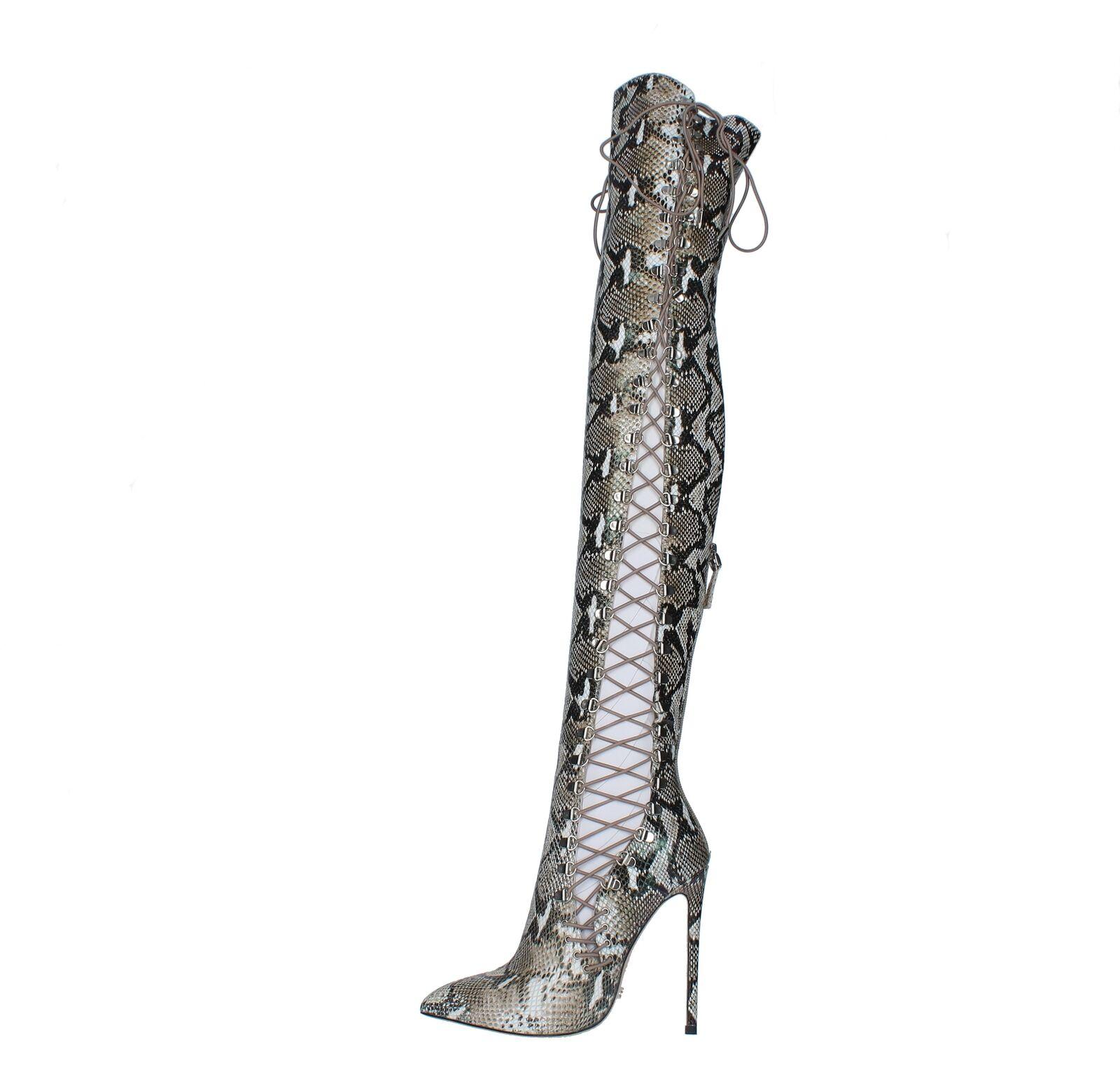 all'ingrosso economico e di alta qualità AMF4_GIAN Scarpe Scarpe Scarpe Cuissard GIANNI RENZI donna Multicolore  vendite calde