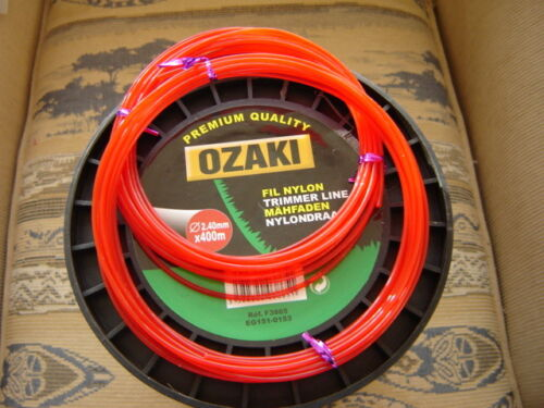 2 X 5 mtr of 2.4mm DR STRIMMER LINE// CORD  IDEAL FOR DRAPER PETROL STRIMMERS