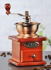 Nostalgische Kaffeemühle Kaffee-Mühle mit hochwertigem Keramik-Kegelmahlwerk