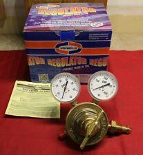 Uniweld Rv8012 Fuel Stage Regulator Cga 510 Single Stage Brass 2 40 Psi