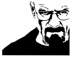 bd24354ec Details about Breaking Bad #4 sticker VINYL DECAL Walter White Bryan  Cranston Heisenberg