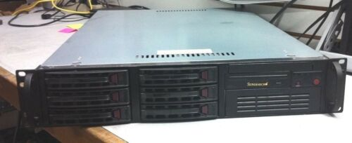 with 400W PSU SuperMicro 2U Rackmount Server Chassis CSE-822