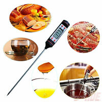 BBQ Thermometer Digital Cooking Food Probe Meat Kitchen Selectable Thermometer