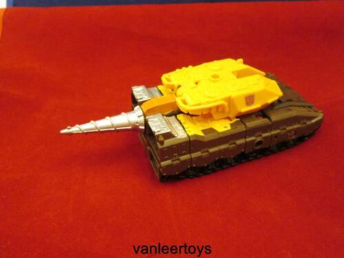 Transformers Generations Combiner Wars Computron NOSECONE Drill