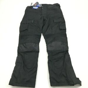 NEW Extreemgear Motorcycle Pants XXL 2X Waterproof 3M Scotchlite Removable Liner