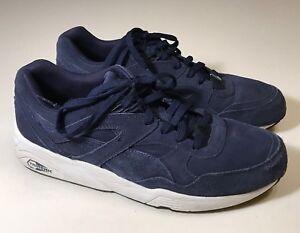 Puma Trinomic R698 Allover Suede Blue