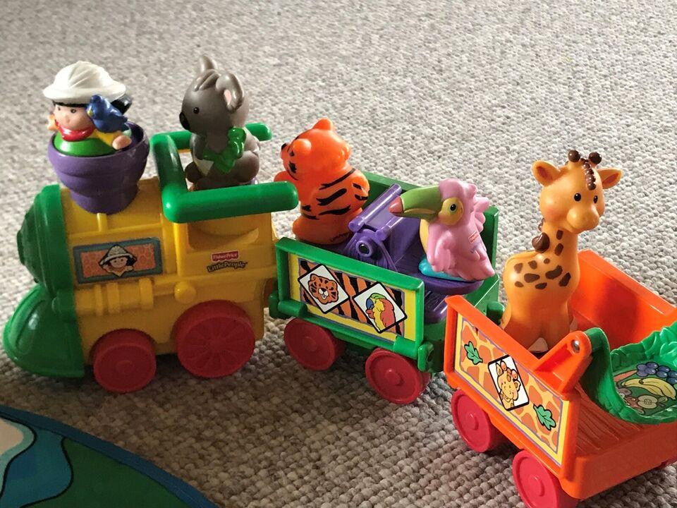 Little people, Zoo med tog