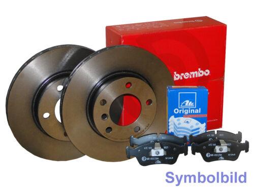 BREMBO+ATE Bremsensatz HA für VOLVO S60 II,S80 II,V60,V70 III,XC70 II