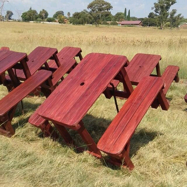 Phenomenal Wooden Tables Garden Benches For Sale Fourways Gumtree Gmtry Best Dining Table And Chair Ideas Images Gmtryco