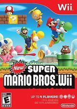 New Super Mario Bros. Wii (Nintendo Wii) Brand New