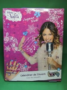 Raisonnable Calendrier De L' Avent Violetta Bracelet Elastique Disney Loomy Advent Calendar Large SéLection;