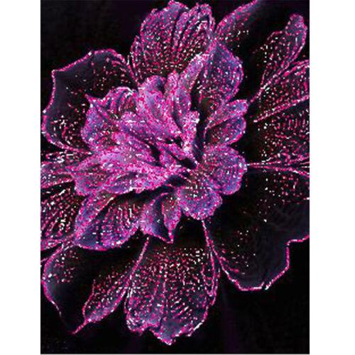 Flower Rose Full Drill 5D Diamond Painting DIY Cross Stitch Kits Mosaic Decor
