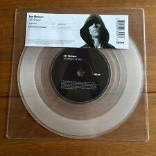 "Ian Brown - All Ablaze  7"" Clear  Vinyl  Stone Roses"