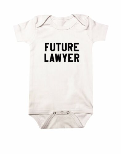 Future Lawyer Baby Clothing Kids Clothing Newborn Baby Gifts Boys Clothing
