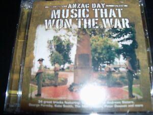 ANZAC-Day-Music-That-Won-The-War-Australia-2-CD-Like-New