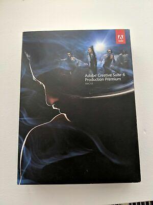 Intelligente Adobe Production Premium Cs6 Mac Ie Inglese English Pieno Box Retail- Vendite Economiche 50%