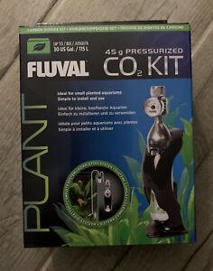 Fluval Planted Aquarium Fish Tank Pressurised Co2 Kit 45g