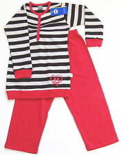 Schlafanzug Gr.104 Schiesser NEU m.E 100% Baumwolle pink grau Pyjama NICI