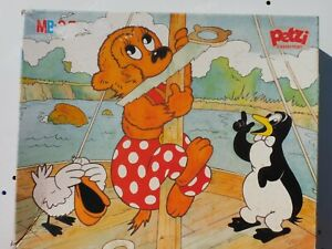 Puzzle-Petzi-l-039-ourson-MB-Casterman-Cavahel-Vintage